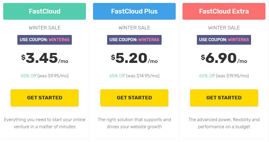 fastcomet plans min February 24, 2020